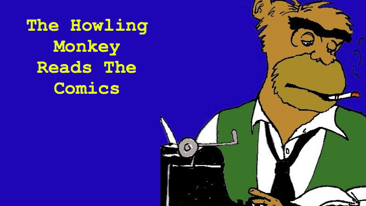 In this week's episode,  Viking chefs, Christmas card snafus, and football and coffee!  All that, and more, in this edition of The Howling Monkey Reads The Comics!