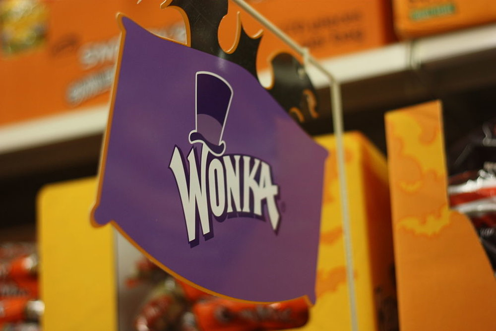 I didn't want those litigious folks at Warner Brothers to come after me for using an image from the movie, so this will have to do. Photo by Marcus Quigmire from Florida, USA (Wonka) [CC BY-SA 2.0 (https://creativecommons.org/licenses/by-sa/2.0)], via Wikimedia Commons