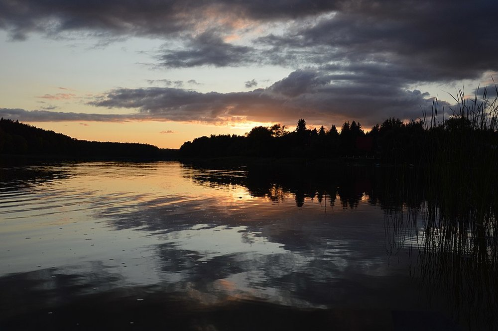 All jacket covers for a memoir require a photo of a lake at sunset. Here's a lovely one. Photo by Xroyalix [CC BY-SA 3.0 (https://creativecommons.org/licenses/by-sa/3.0)], from Wikimedia Commons