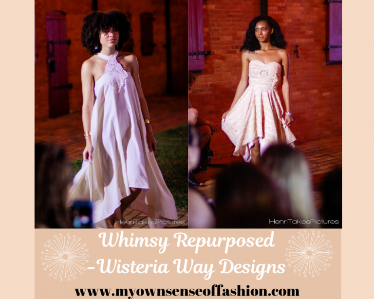 Whimsy Repurposed-Wisteria Way Designs - Wisteria Way Designs effortlessly combines classical elements, timeless feel, and a bit of Southern charm perfectly crafted in one of a kind gowns.   The label definitely has the exceptional woman in mind.