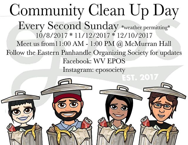 Yep! We're still here! Be sure to come to our community trash clean up soon! We'd love to have you. We love you!