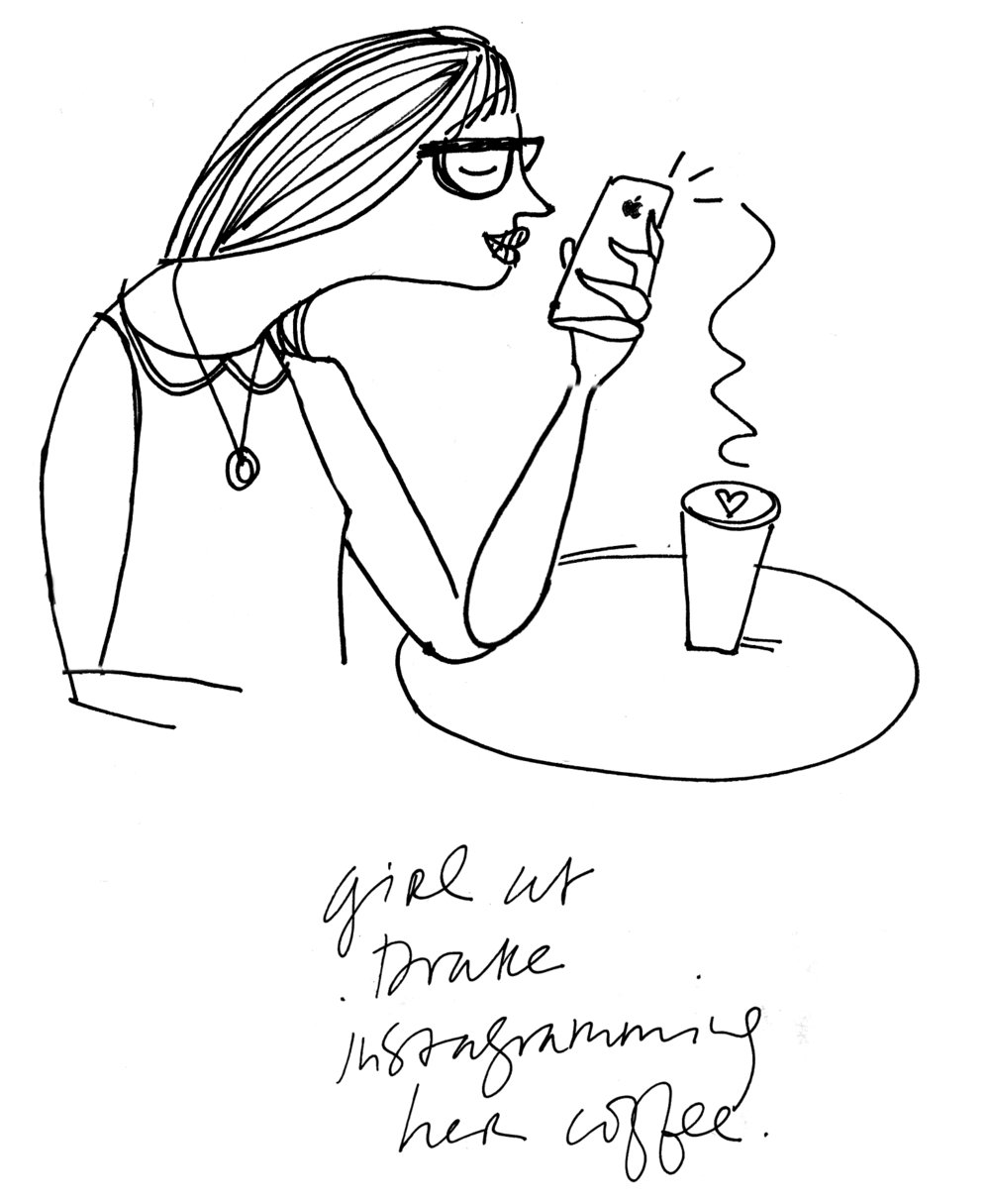 sketch girl drake cafe.jpg