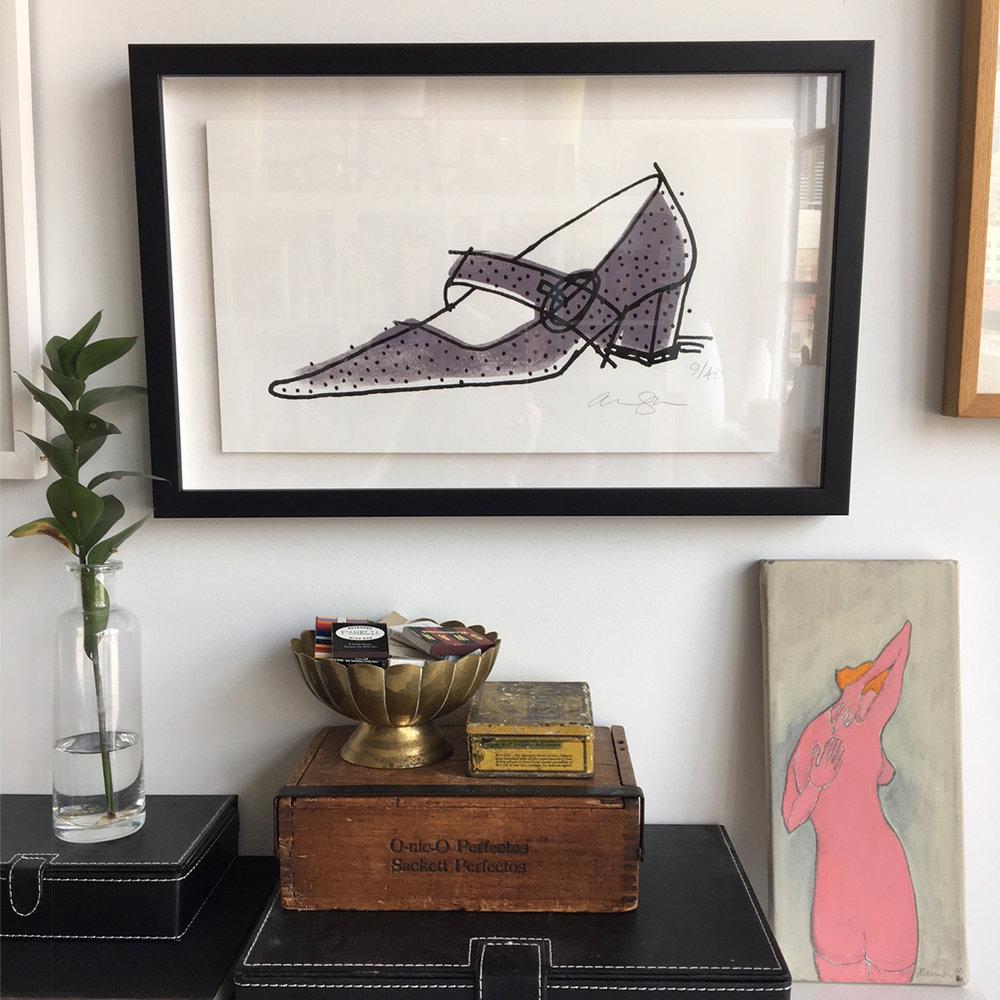 SJP Sparkley Shoe
