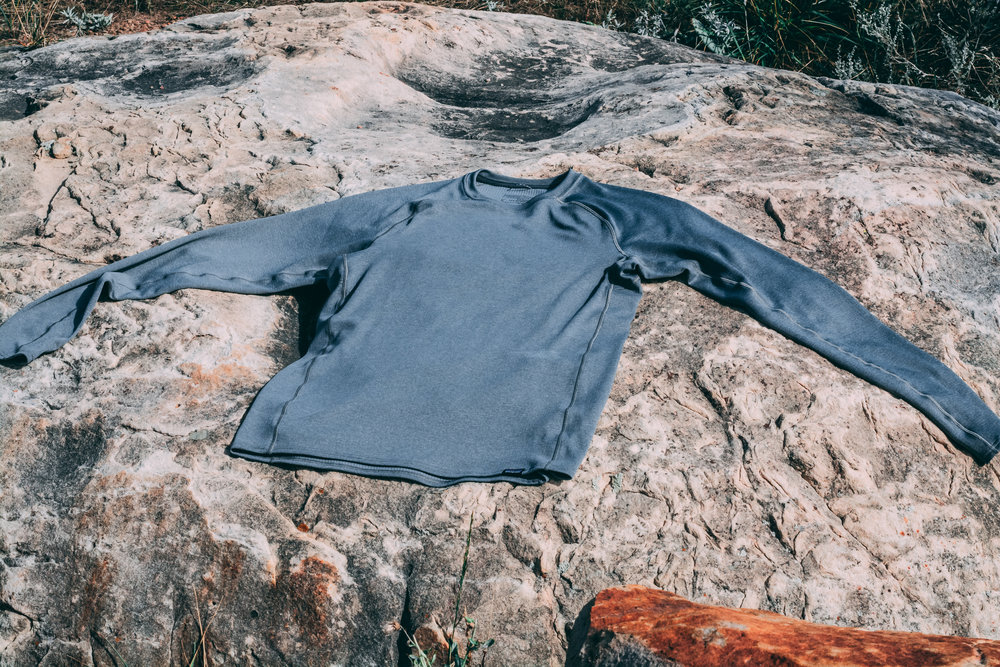 📸 ©johnlaguardia - Patagonia Nine Trails LS shirt. 100% Polyester spun jersey with Polygiene® permanent odor control.