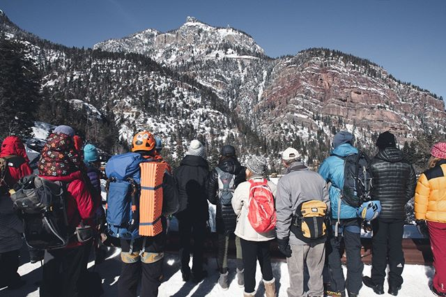 📓Title: Onlookers  Spectators at the Ouray Ice Park watching some amazing athletes compete. ≈≈≈≈≈≈≈≈≈≈≈≈≈≈≈≈≈≈≈≈≈≈≈≈≈≈ 🏔For more outdoor adventure, action sports and landscape photography, Follow on Instagram @johnlagphoto 🙏 Thank you! ≈≈≈≈≈≈≈≈≈≈≈≈≈≈≈≈≈≈≈≈≈≈≈≈≈≈ . . . . . #ourayicepark #ice #icelimbing #rockandicemag #iceclimbingimages #grippedmagazine #iceaxe #mixedclimbing #icefall #iceclimbingmag #iceclimb #drytooling #winterclimbing #climbinginspiration #climbingislife #climbinglovers #climbingday #climbingphotography #climbing_photos_of_instagram #climbing_worldwide #climbingbliss #iceclimbers #actionsportsphotographer #actionsportsphotography #johnlagphoto
