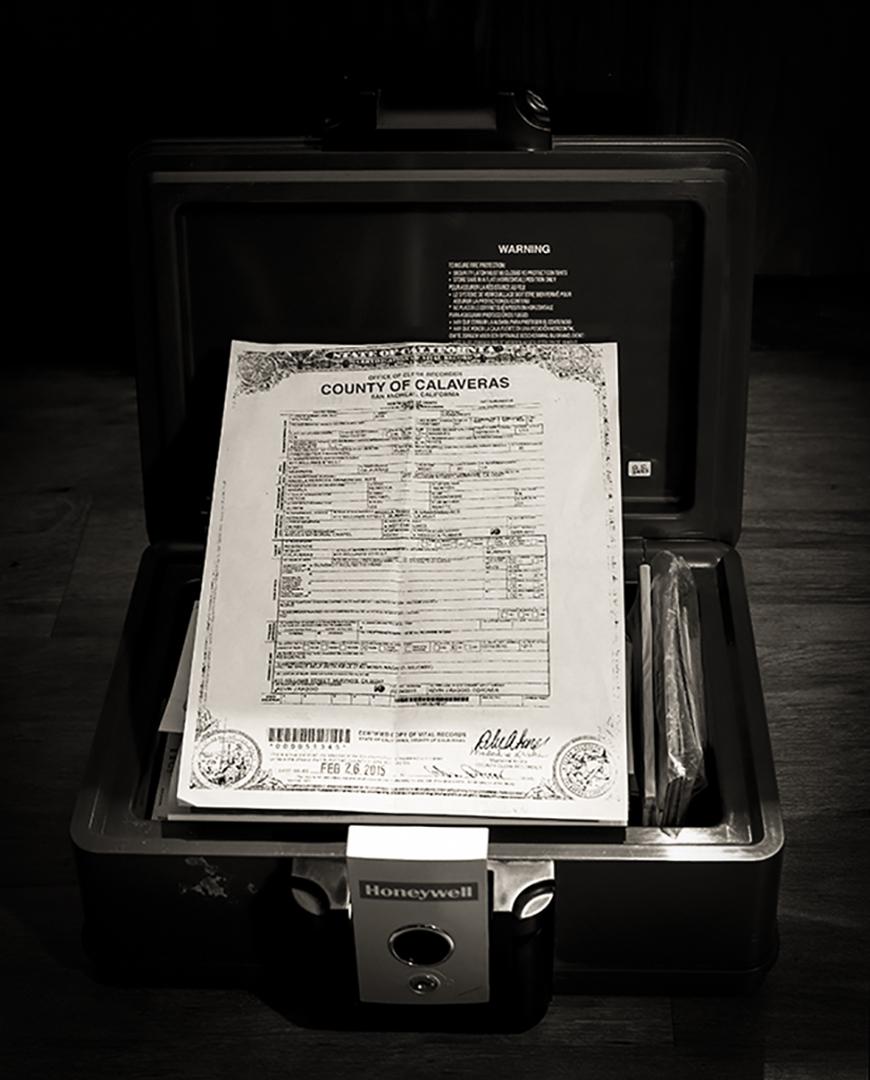 Calaveras County Death Certificate