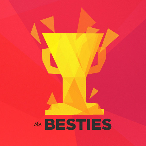 The Besties is a video game podcast for Polygon featuring myself, my brother Justin, and my co-workers Chris Plante and Russ Frushtick. It used to be a weekly show, and then monthly, and then we canceled the show, and then it came back as an annual thing, and now, back by  inscrutable listener demand , we're doing it monthly again. We try to pick the best video games of each month, but our criteria is, admittedly, trash.