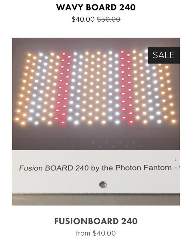 4/20 sale - 20% everything in stock. Valid for April 20th only.  #420sales #photonfantomdesigns #sunboard240 #wavyboard240 #fusionboard240 #ledgrowlights #diyled