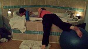 midwife stretching