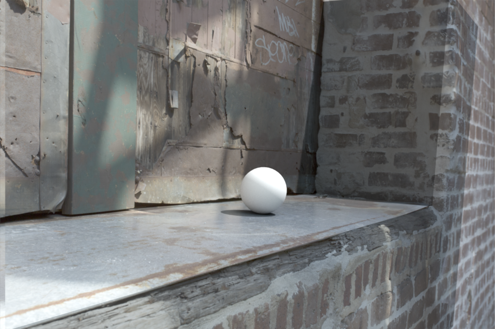 Lighting Match with Projected Textures