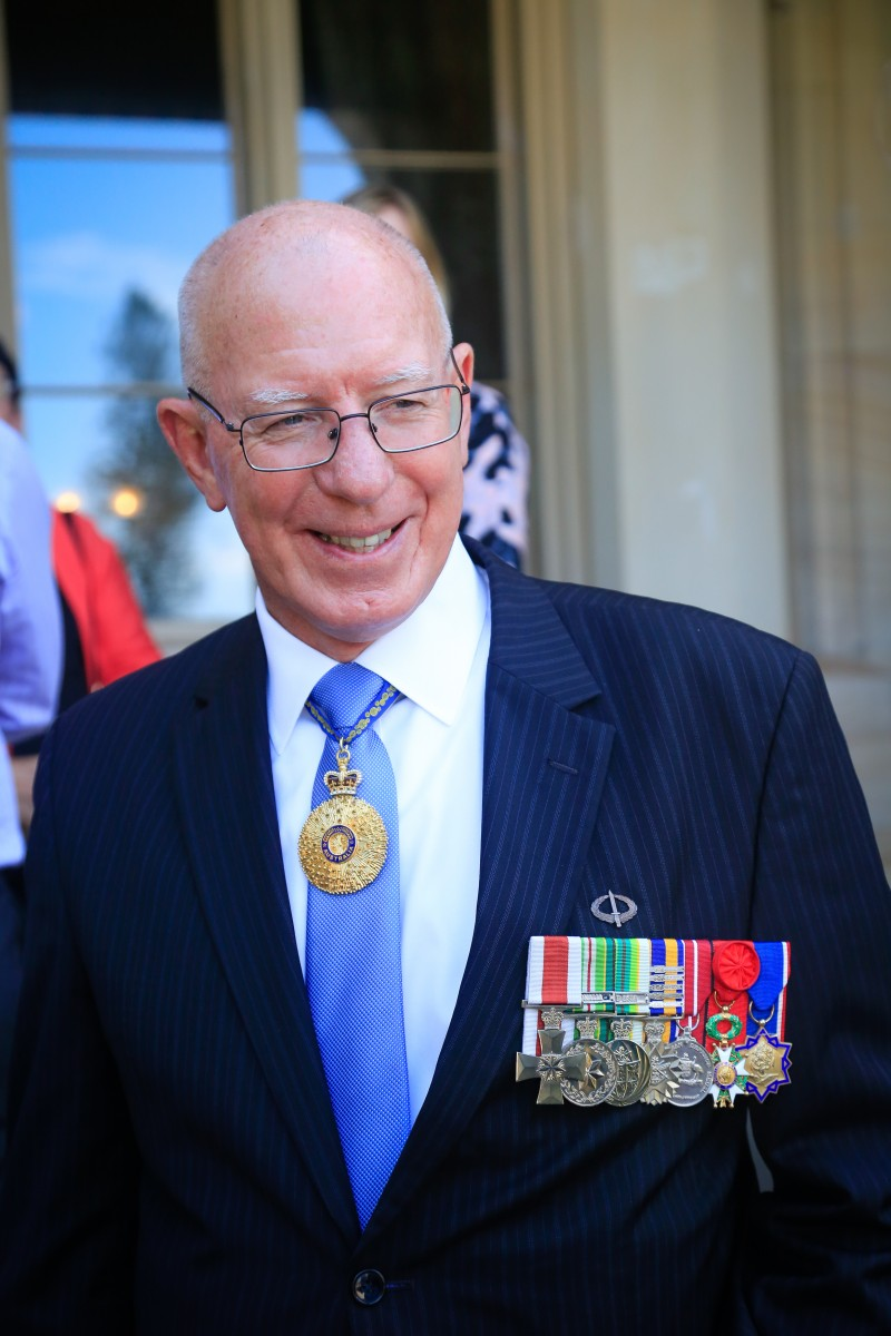 Governor David Hurley AC DSC
