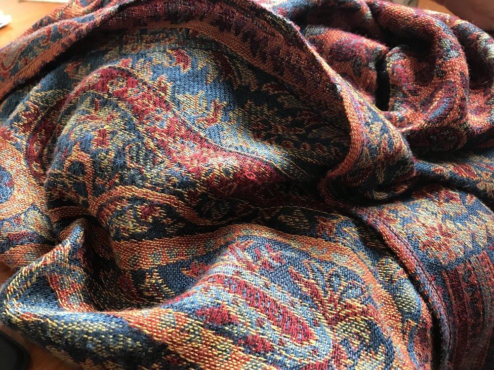 B--'s shawl