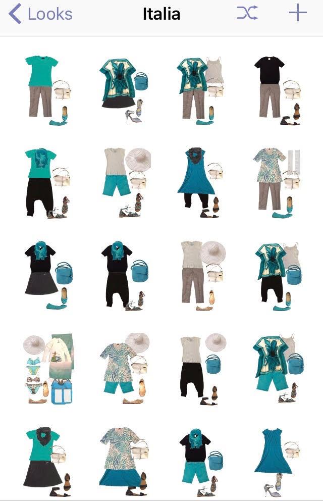 Meissoun's Italian wardrobe
