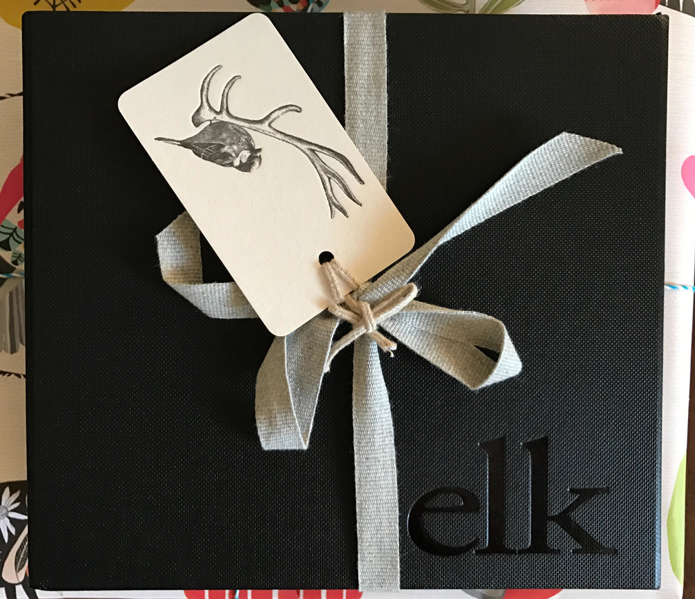 Elk packaged jewellery