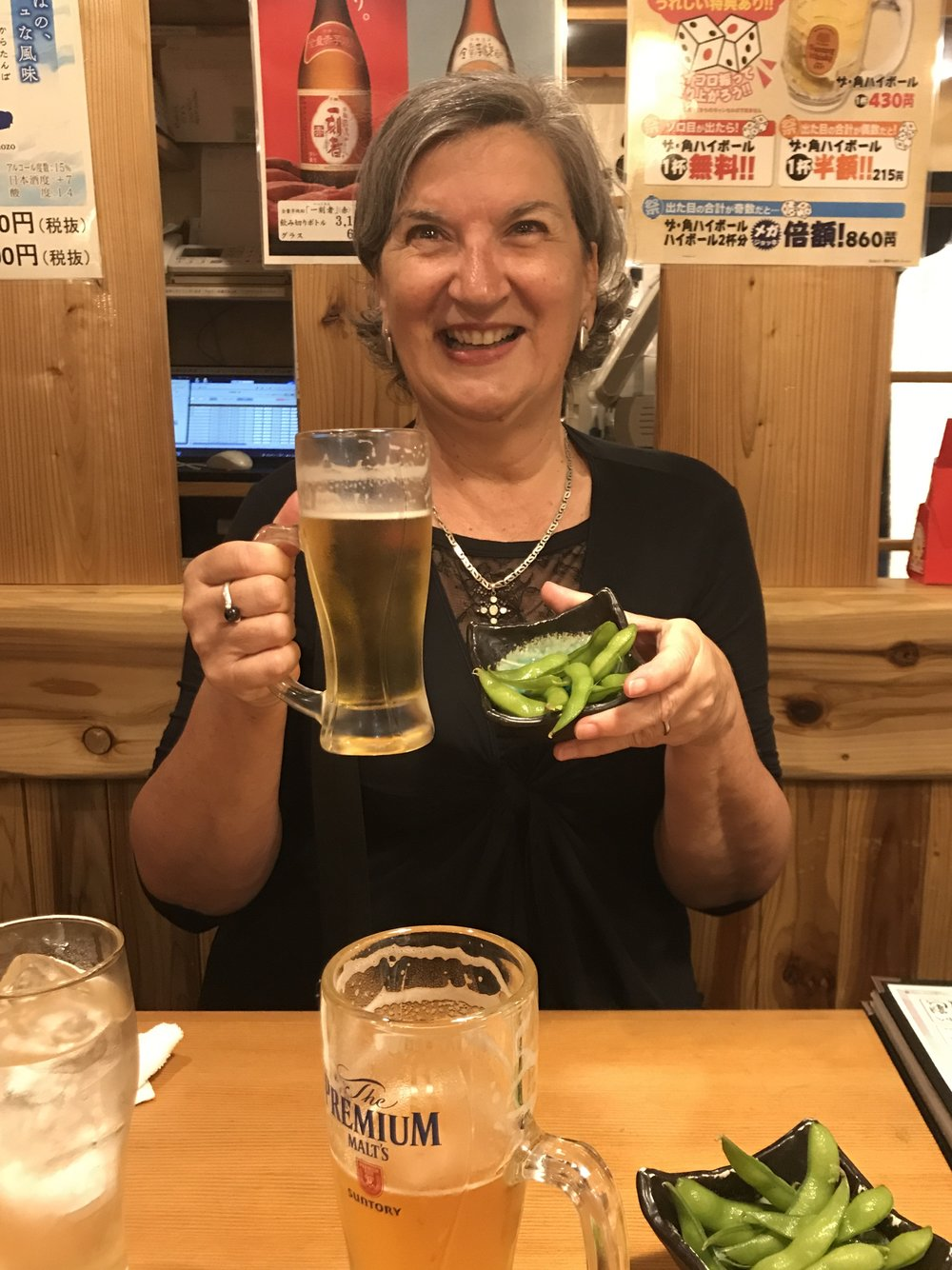Beans and beer in Japan