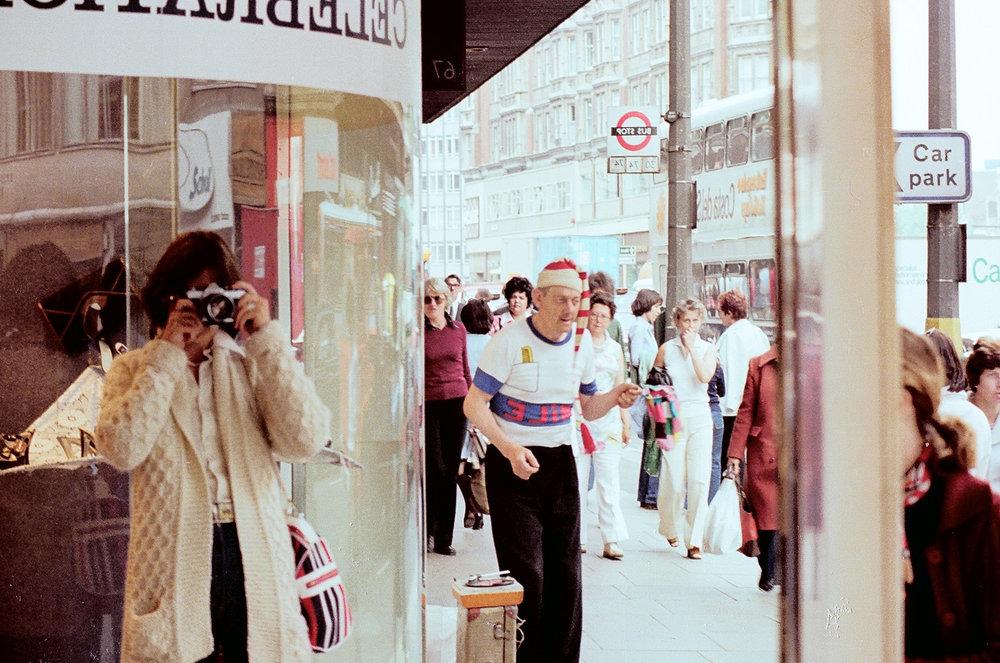 Oxford Street, London, 1977