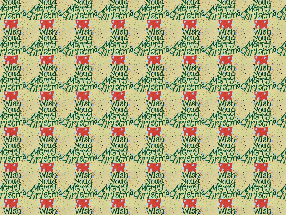Planepack Christmas gift wrap
