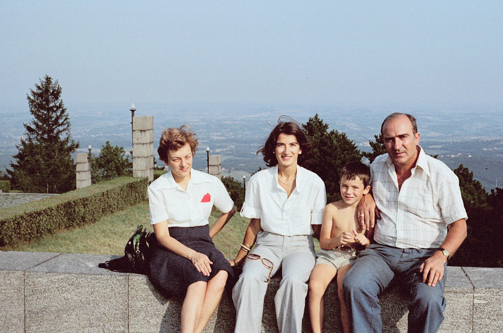 Summer of '77, my first trip to Belgrade. With my Uncle Mića, his son Nikola and wife, Emilija.