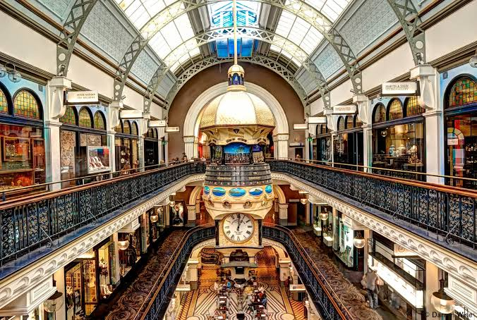 Queen Victoria Building, Sydney (image courtesy of Cambridge Hotel)