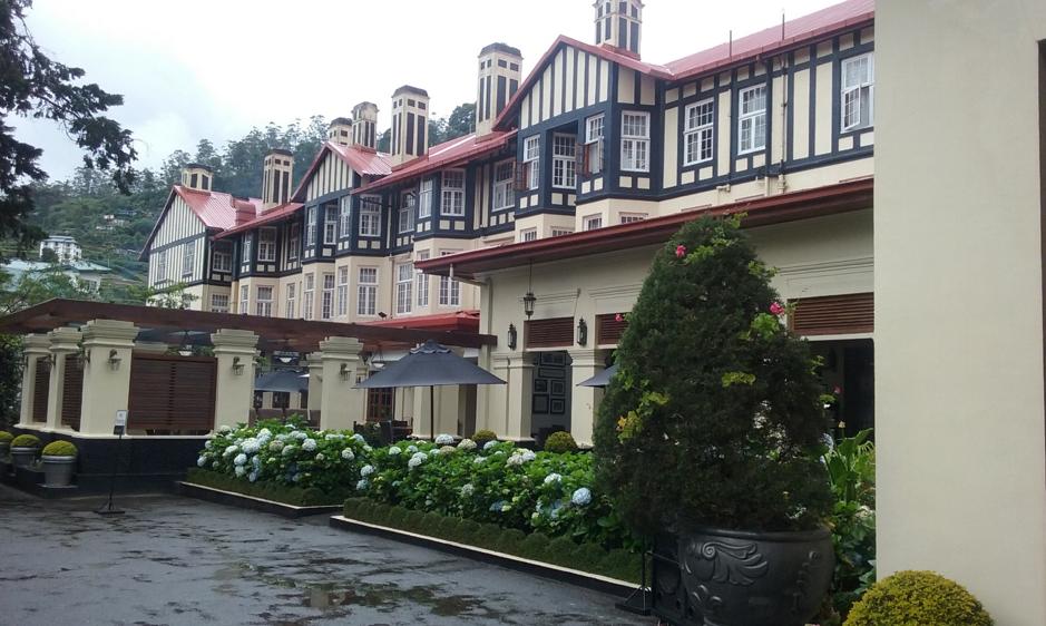 Look familiar? The Colonial Hotel at Nuriwa Eliya