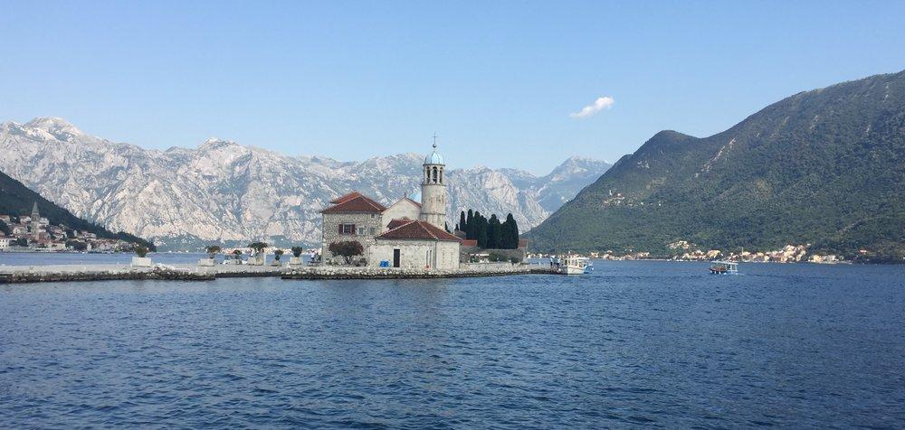 Our Lady of the Rocks (Gospa od Skrpjela) in the Boka Kotor