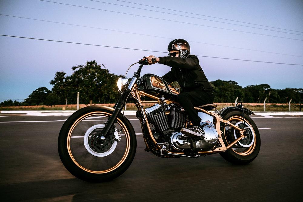 Harley Davidson Custom Goiania