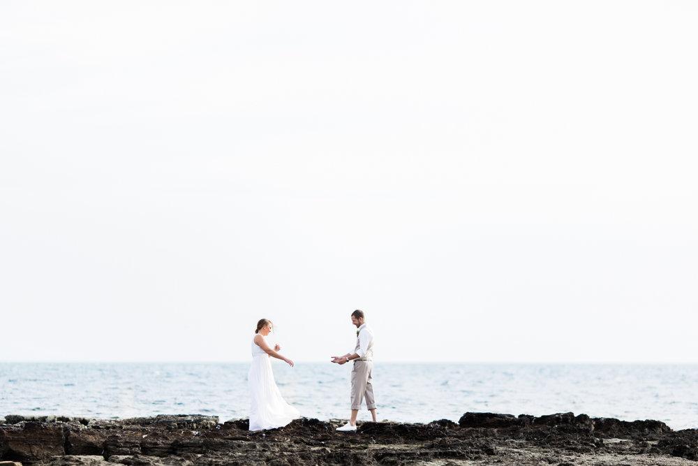 Melbourne Mornington Peninsula Wedding Photographer First Look-3.jpg