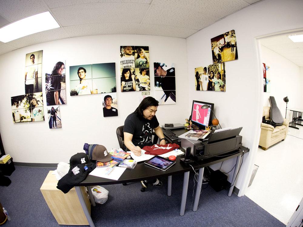 Back when I had my office/photo studio in Santa Clara. 2011