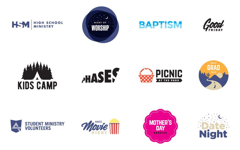 ANCC Youth logos