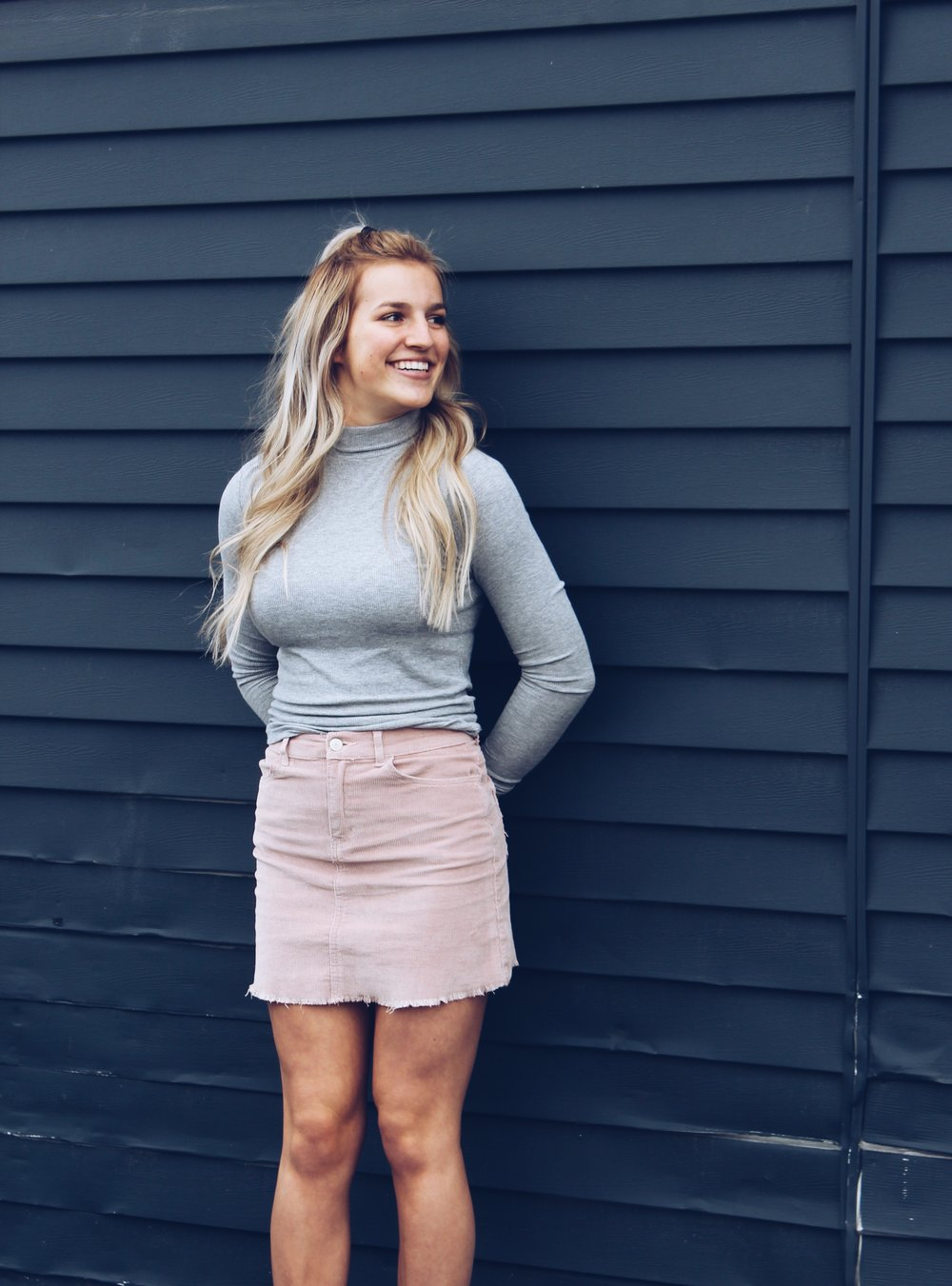 How to Wear a Skirt in Colder Weather