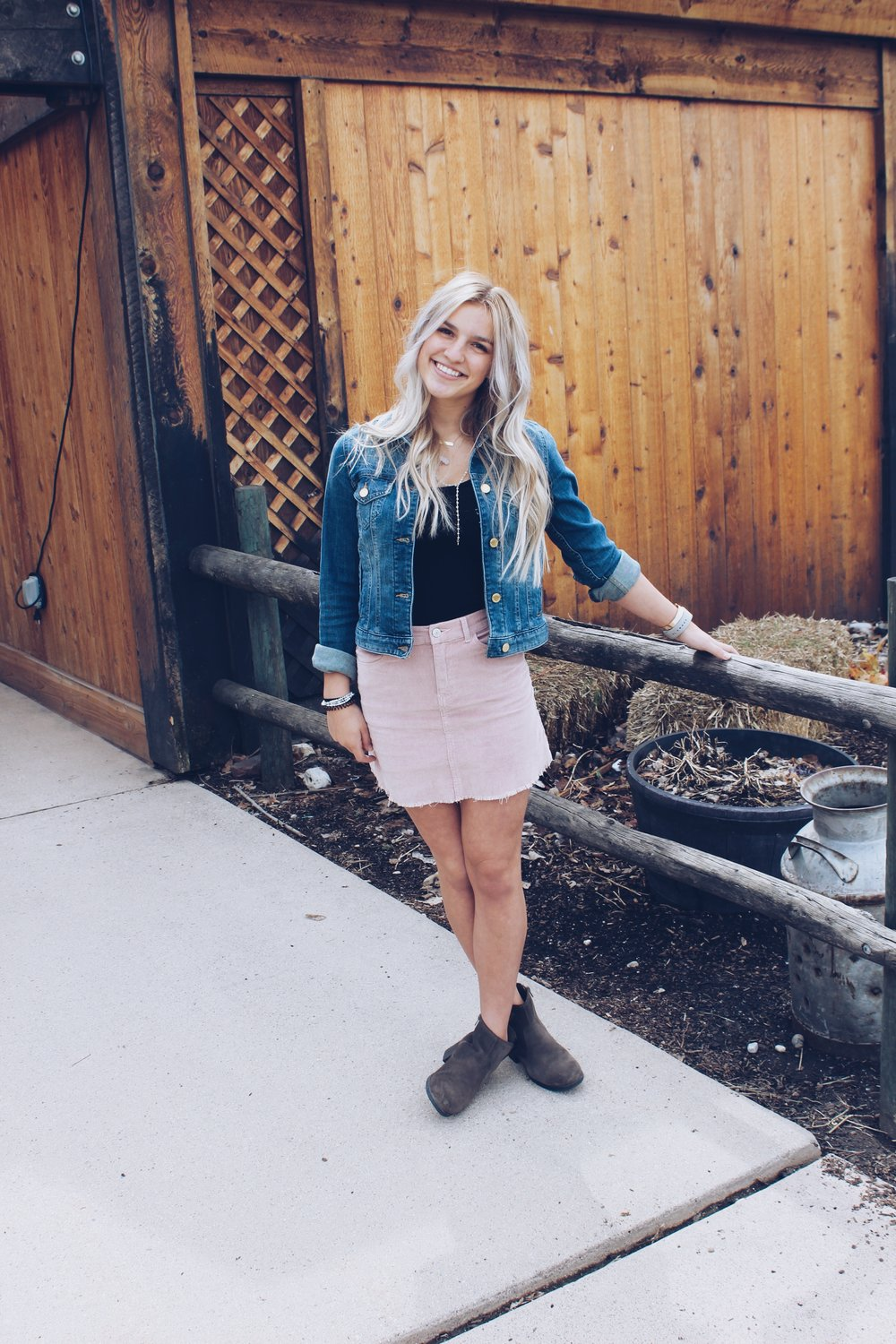Jean Jackets and Skirts - 4 Ways to Style