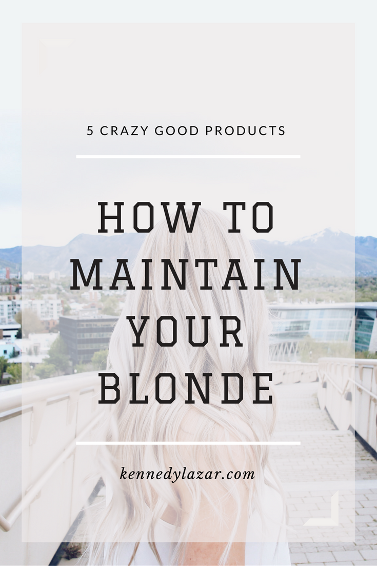 How to Maintain Your Blonde and Stay Ashy