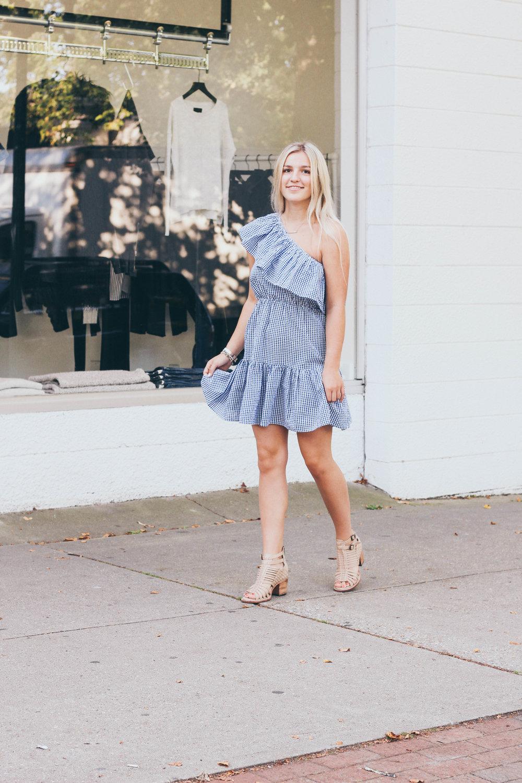 The Next Native MINKPINK Checkered Dress