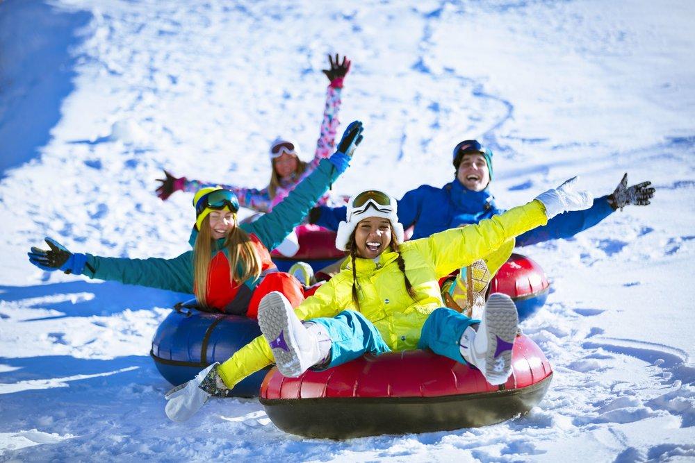 Snowrafting i Vaset Skiheiser