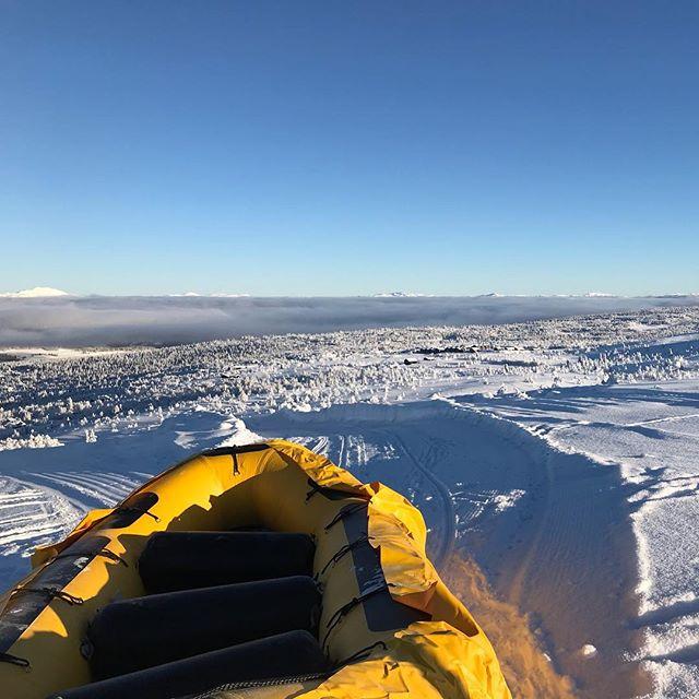 Team Building på fjellet? Snowrafting + Middag = sant💙