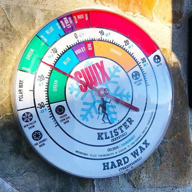 Sola skinner og klokka viser grønt💚