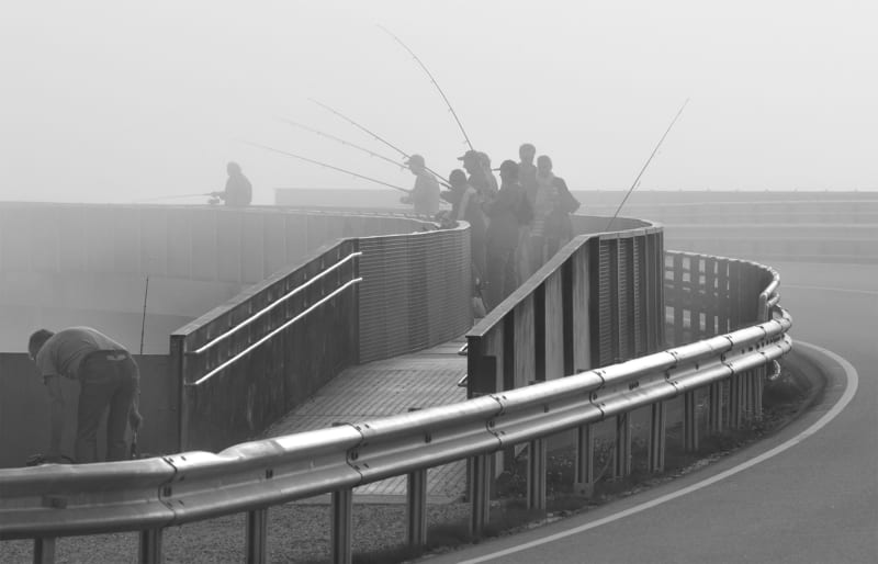 ponti per la pesca di Myrbaerholmen