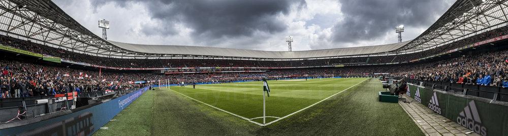 Stadion Feijenoord, De Kuip 16 April 2017 Feyenoord - FC Utrecht