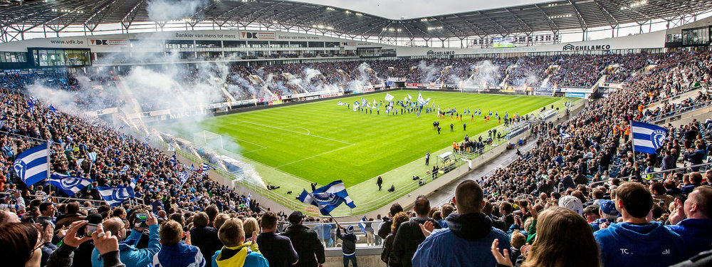 Ghelamco Arena, 26 April 2016 Play-off 1 KAA Gent - Club Brugge