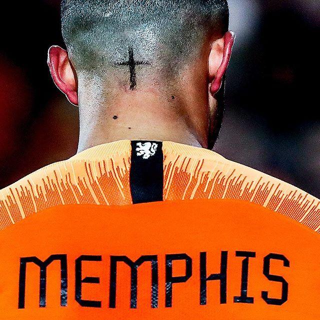 MEMPHIS tijdens #nedfra #dekuip #memphis #depay #memphisdepay #onsoranje #oranje #dutch #sportsphotography #sportfotografie #fotografie