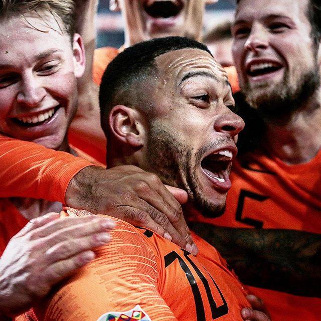 MEMPHIS deel II ;-) #nedfra #interland #sportsphotograpy #sports #sportfotografie #football #uefa #soccer #dekuip #rotterdam