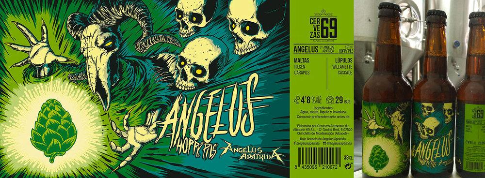 Angelus Apatrida Beer Cervezas 69