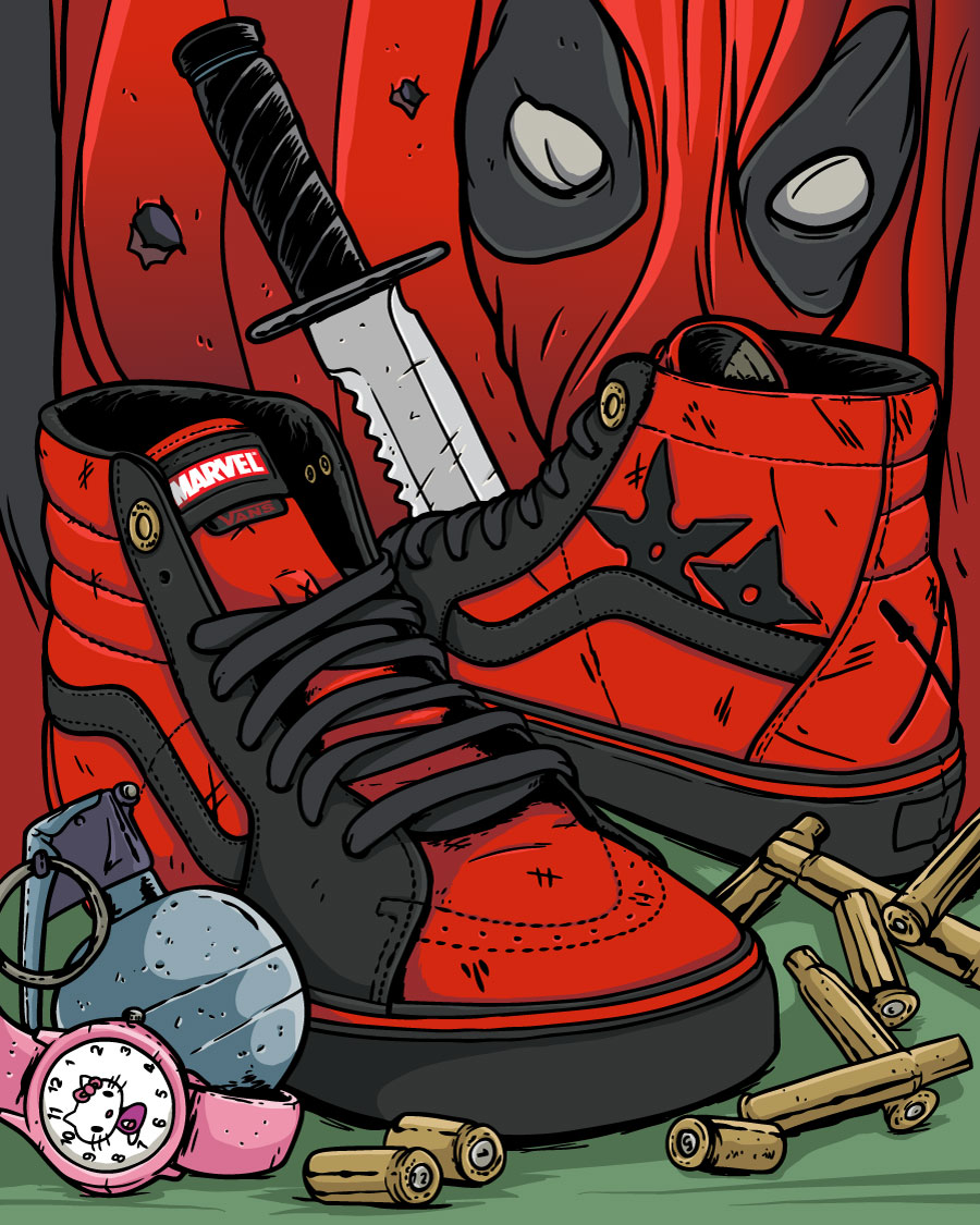Vans Deadpool