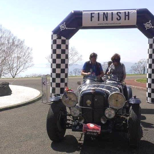 Alvis Speed 25 Special after winning the 2017 Samurai Challenge