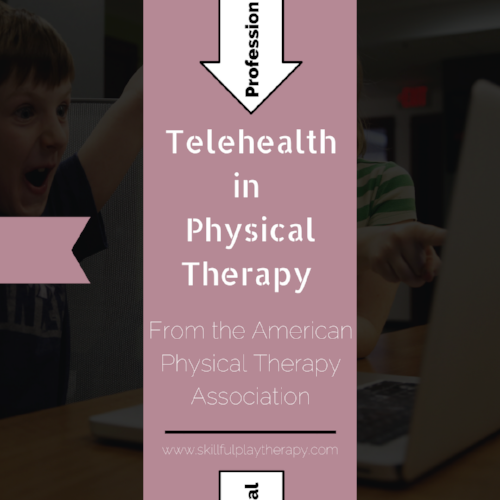 Telehealth in Physical Therapy