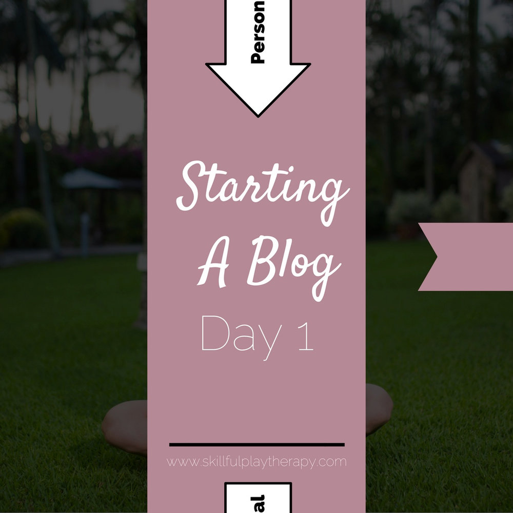 Starting A Blog- Day 1