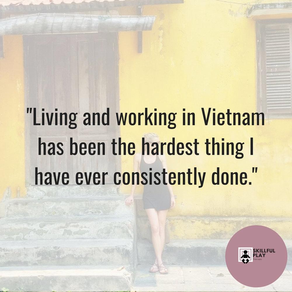 Homesick Psychology- Living in Vietnam