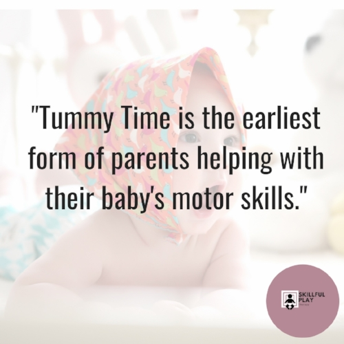 Tummy Time for Motor Skills