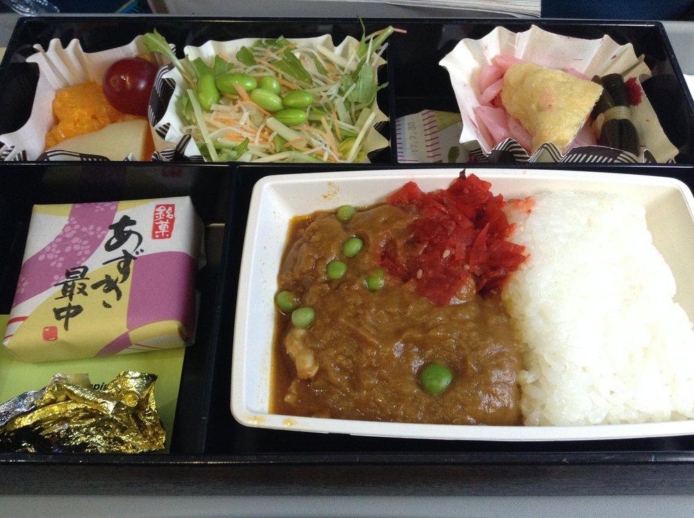 フィリピン航空 機内食 ランチ