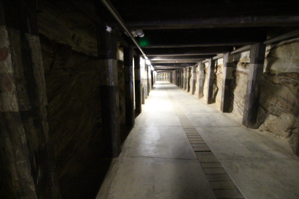 Cockatoo island tunnels